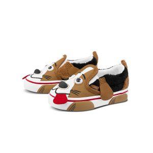 DOG SLIP-ON V 小童帆布鞋