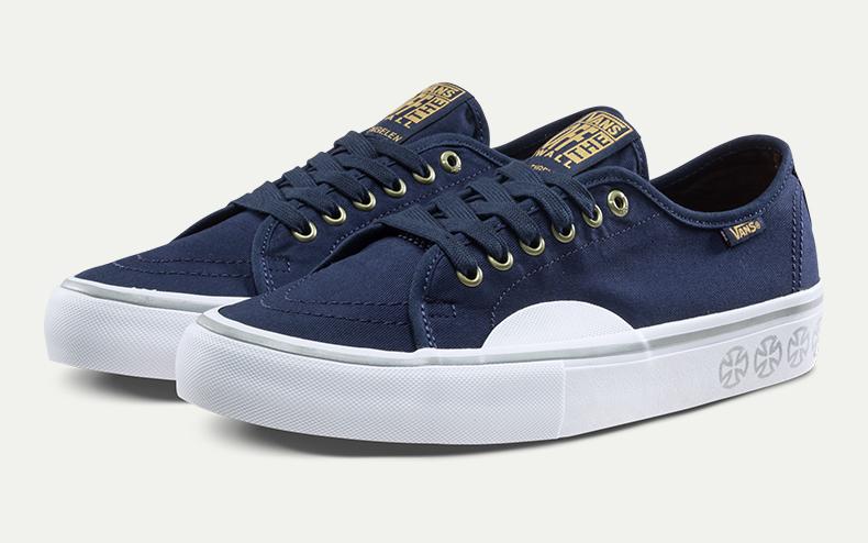 可以搭配时尚感十足的Vans鞋带系法