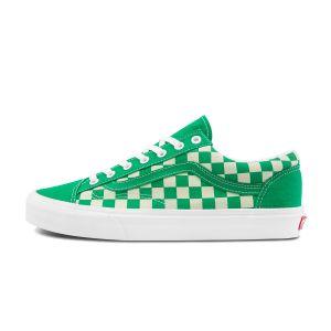 绿白棋盘格