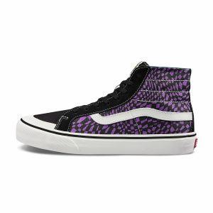 紫色/黑色