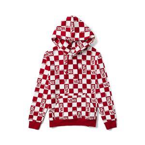 红白棋盘格