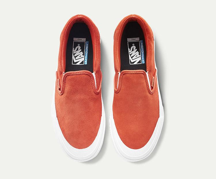 范斯SLIP-ONPRO男女同款职业滑板鞋板鞋