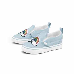 SLIP ON V 小童帆布鞋