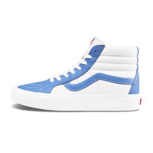 白色/蓝色
