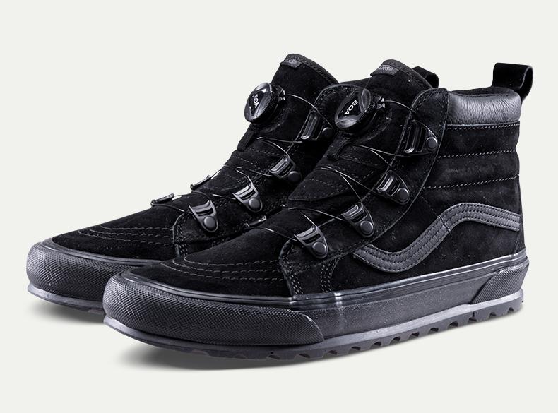 百搭的万斯鞋,可搭配vans时尚系带方法