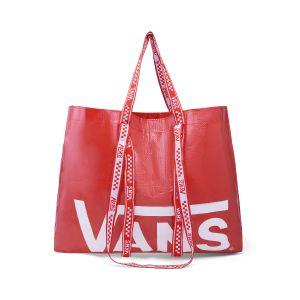 VANS购物袋-红白色随机,满899元赠