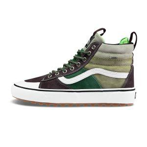 棕色/绿色