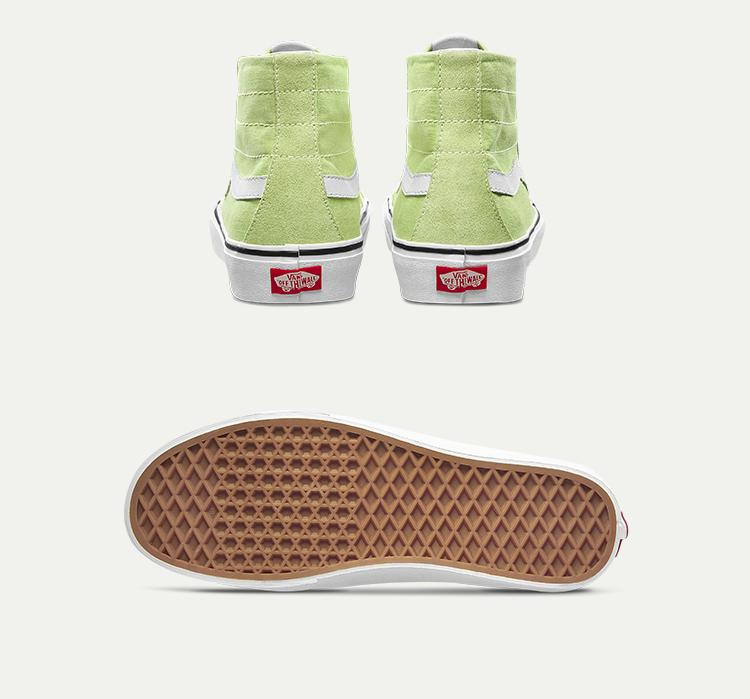 SK8-HI-138-DECON-SF男女同款帆布鞋牛油果绿