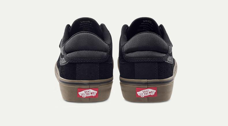 万斯休闲款滑板鞋细节展示