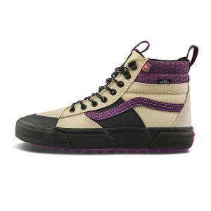 米白色/紫色/黑色
