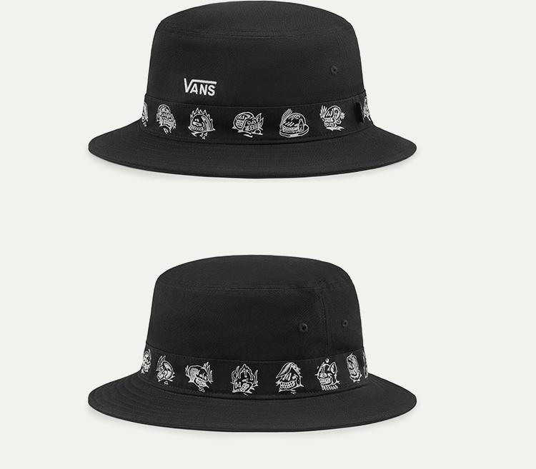 范斯女款缝制帽帽子